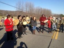 Highway 344 Oka protest