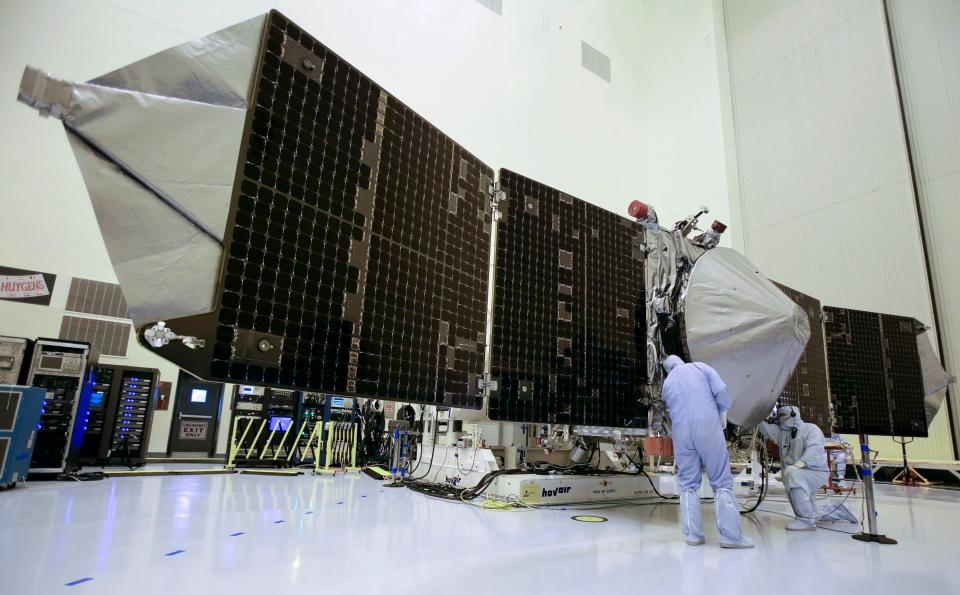 NASA spacecraft to study Mars