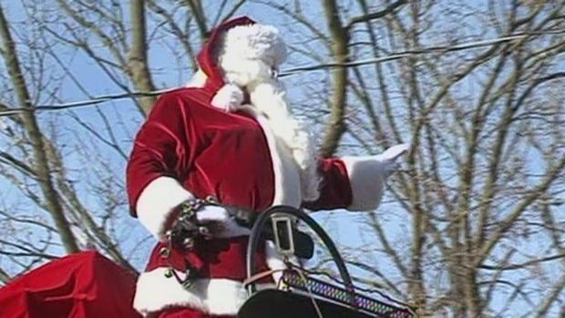 barrie santa claus parade 2019