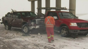 CTV Calgary: Snow plagues Calgary area roads