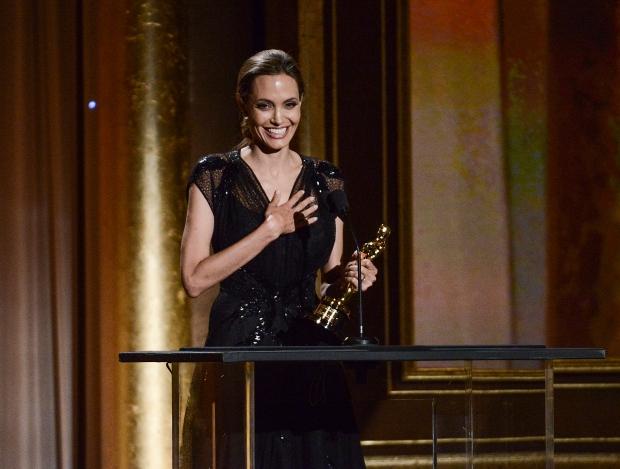 Angelina Jolie, Steve Martin shed tears accepting honorary