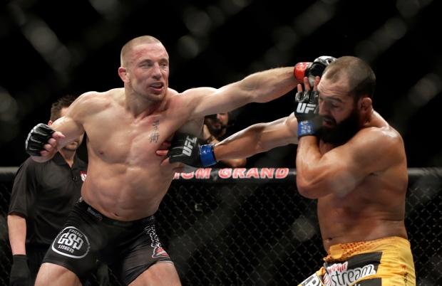 Georges St-Pierre wins split decision at UFC 167