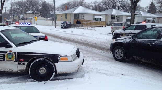 Car Crash Waverley Winnipeg