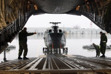 Griffon helicopters heading to Philippines
