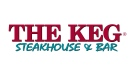 The corporate logo for The Keg Steakhouse & Bar, proprety of The Keg Royalties Income Fund, is shown. THE CANADIAN PRESS/HO