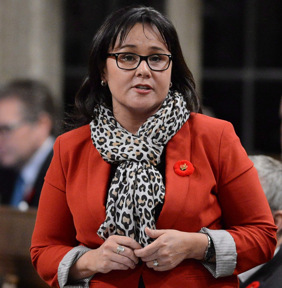 Minister Leona Aglukkaq responds to a question during question period in the House of Commons on Parliament Hill in Ottawa on Tuesday, Nov.5, 2013. (Sean Kilpatrick / THE CANADIAN PRESS)