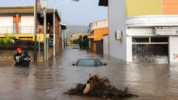 Sardinia flood
