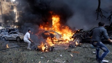 Twin suicide bombings in Lebanon