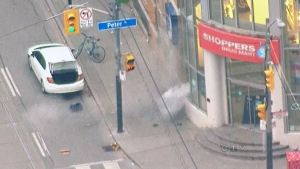 CTV Toronto: Package blown up by bomb unit