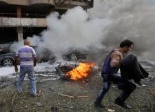 Explosions car bombs Lebanon Al Qaeda Beirut