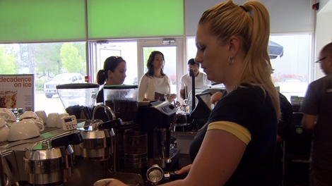 Many businesses, like Ethical Bean Coffee, are using QR codes to boost sales. July 18, 2011.
