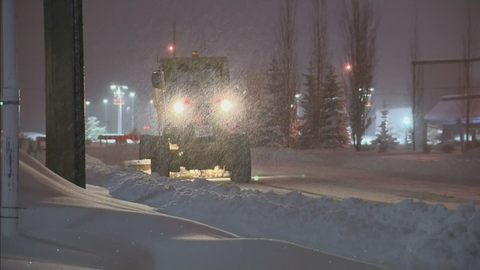 Officials had to extend a seasonal parking ban Tue