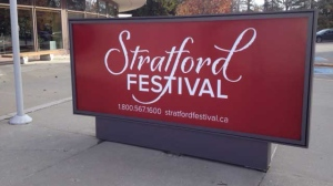 The Festival Theatre is seen in Stratford, Ont. on Wednesday, Nov. 20, 2013. (Scott Miller / CTV London)