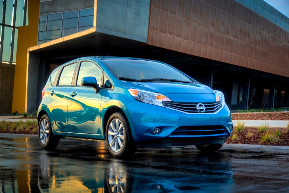 This undated product image provided by Nissan shows the all-new Versa Note.  (AP Photo/Nissan)