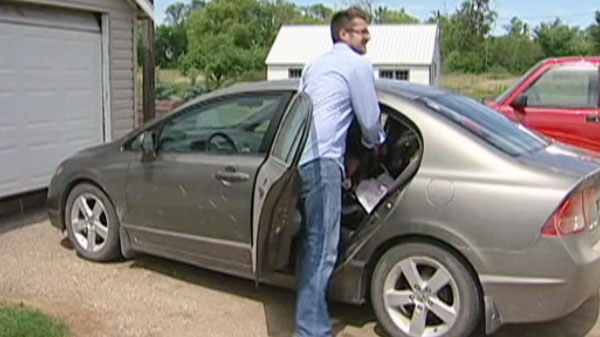 The 32-year-old David Weber says he's fighting the suspension because he needs to drive to work.