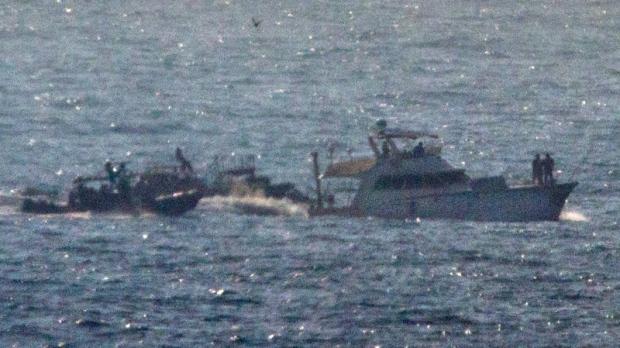 Israeli navy takes over Gaza-bound ship   CTV News