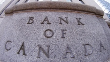 The Bank of Canada is seen in Ottawa, on Tuesday July 19, 2011. (Adrian Wyld / THE CANADIAN PRESS)