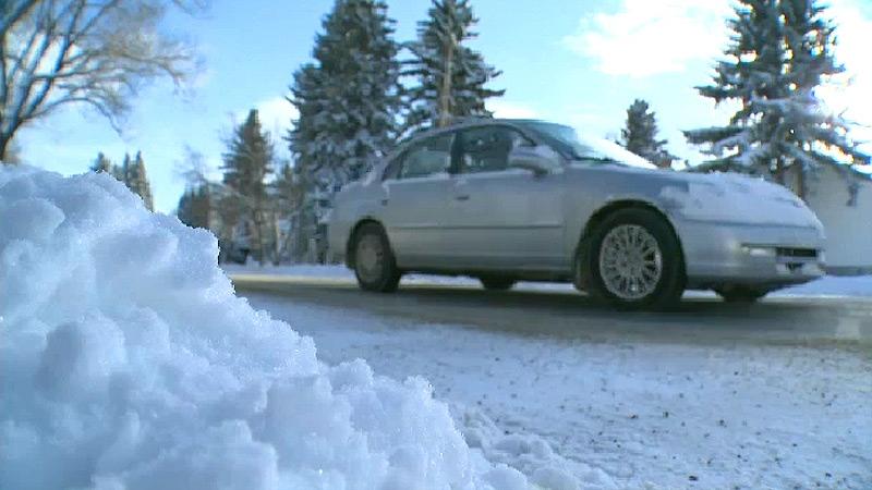 Edmonton snow roads generic