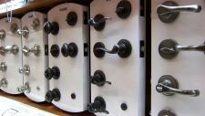 doorknobs and lever handles