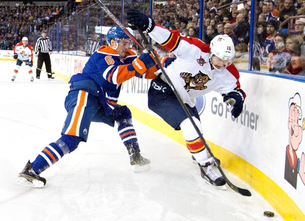 Edmonton beat Florida 4-2 Thursday night.
