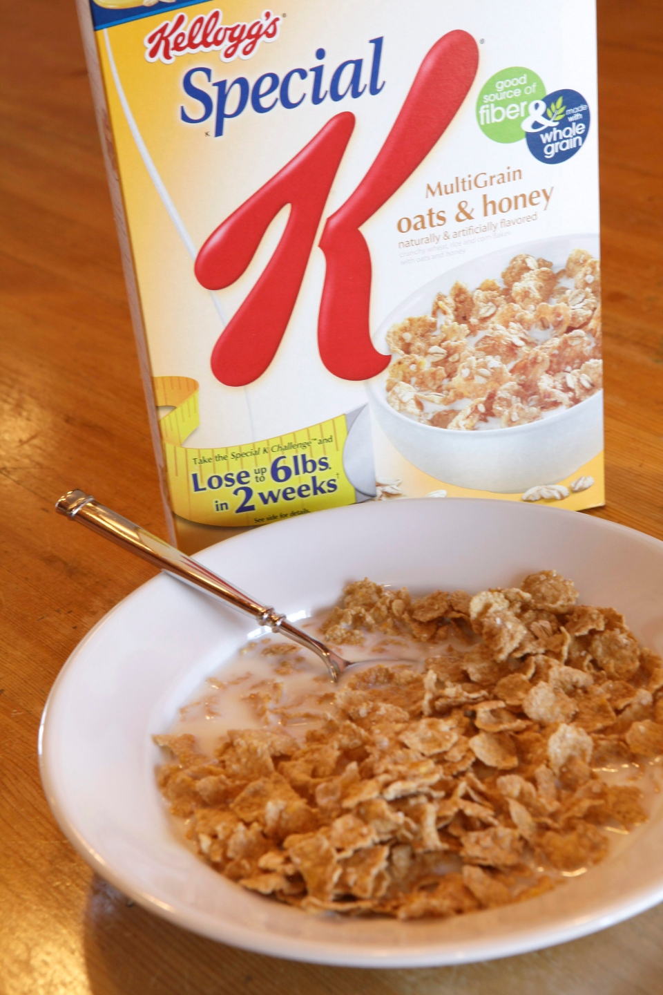 A bowl of Kellogg's Special K cereal is shown on Feb. 2, 2012. (AP Photo/John Raoux)