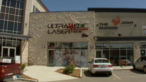 Ultra Medic Laser Skin Studio is shown on Wednesday, July 20, 2011.