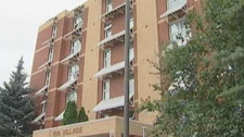 An elevator broke down in the Kin Village six-storey building a month ago in Brandon.