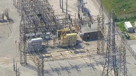 A Toronto Hydro substation