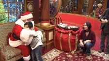 Malls offer kids with autism chance to see Santa