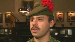 CTV Montreal: Blackwatch member's Movember reason