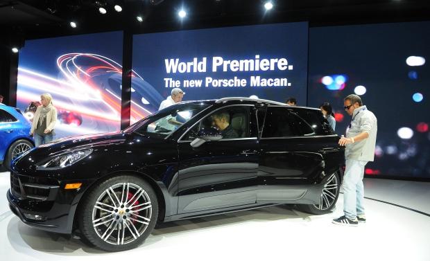 Porsche Macan SUV crossover