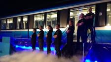 Bombardier-Alstom workers in La Pocatiere