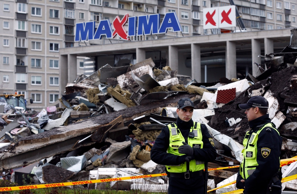 Latvian Rescuers End Search After Supermarket Collapse