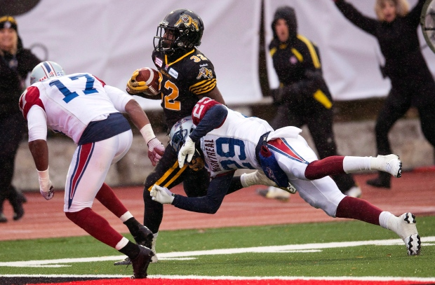 Hamilton Tiger-Cats play Alouettes