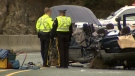 Two young women were killed in a horrific crash on B.C.'s Sea-to-Sky Highway on Nov. 23, 2013. (CTV)