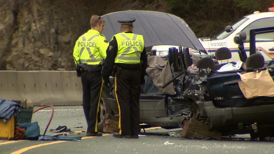 crash on B.C.'s Sea-to-Sky Highway