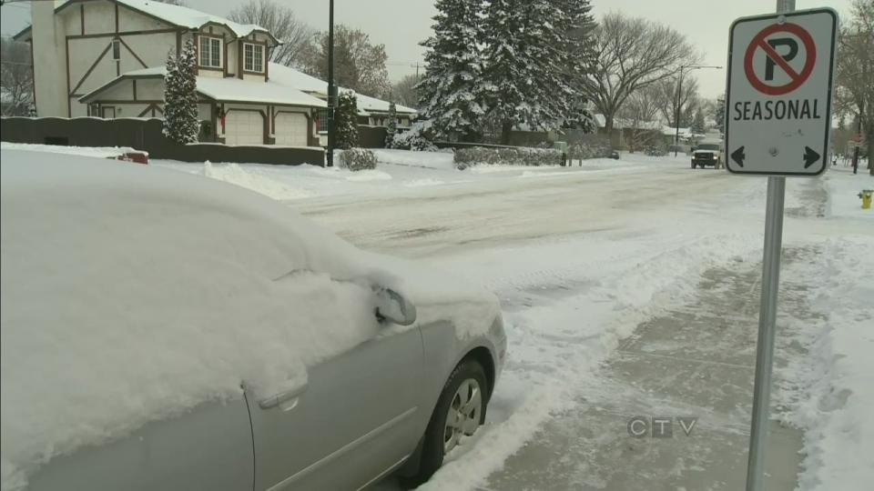 CTV Edmonton: Crews to begin residential blading