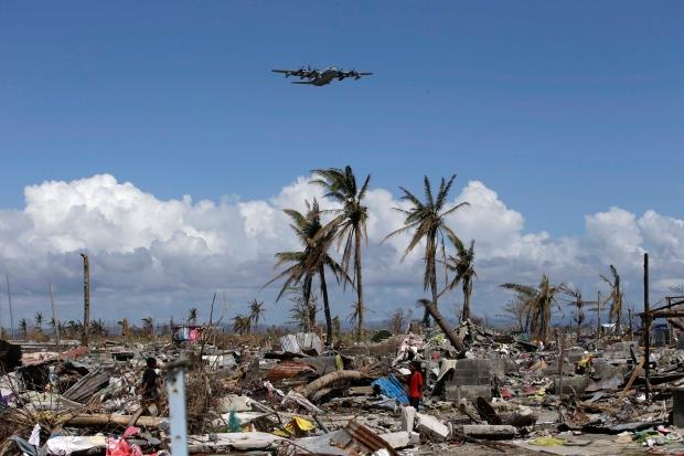 Typhoon Haiyan Tacloban damage aid Philippines