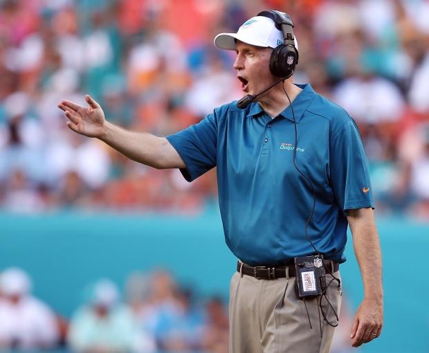 Dolphins coach Philbin
