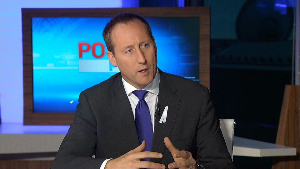 Justice Minister Peter MacKay appears on CTV's Power Play, Monday, Nov. 25, 2013.
