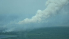 Forest fires are burning in a number of areas in northern Ontario. (image courtesy Kassie Rae)