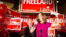 Liberal Candidate Chrystia Freeland