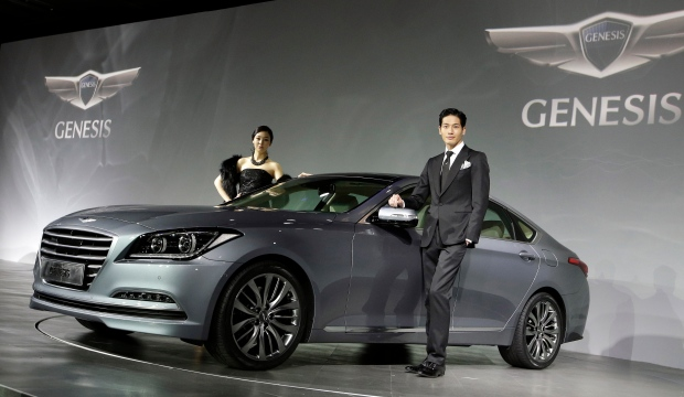 Hyundai Motors' Genesis sedan