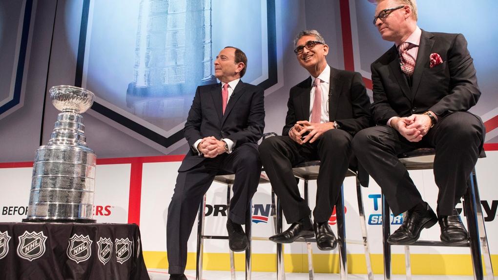 Rogers NHL deal broadcast rights hockey Bettman