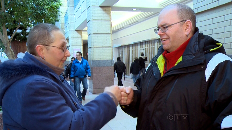 A friendly fist bump might save you from the flu ctv news fist bump greeting is safer than shaking hands m4hsunfo