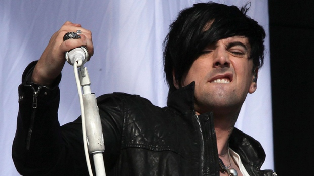 Lostprophets singer Ian Watkins in Aug. 2011