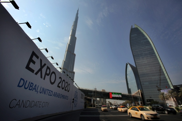 ... 2020 World Expo, becoming first Mideast country to do so | CTV News