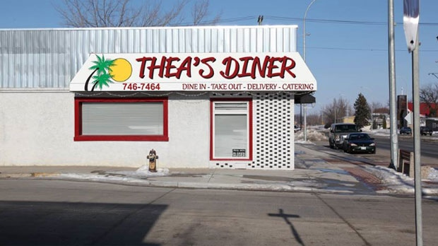 Thea Morris, owner of Thea's Diner, said someone responded to her online ad for a server by referencing the Ku Klux Klan. (Image courtesy Facebook)