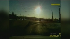 CTV Montreal: Big Blue Blast probably a meteorite