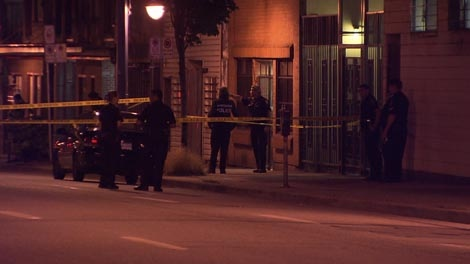 A man armed with a machete was shot and killed by police in Vancouver, B.C., on Friday, July 22, 2011. (CTV)